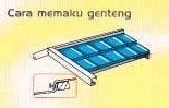 Genteng Metal Fancy Pemasangan 2