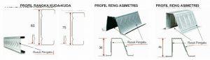 Rangka Atap Baja Ringan Profil