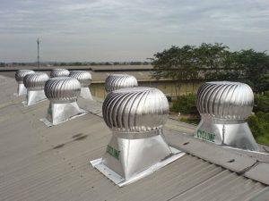 Turbin Ventilator Cyclone Aplikasi