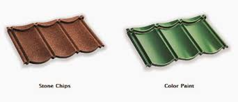 genteng metal rainbow roof profil