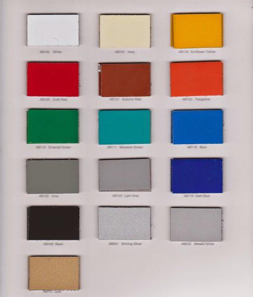 Aluminium Composite Panel Alumebond Warna