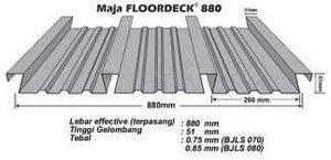 Floordeck - Bondek Maja Floordeck 880