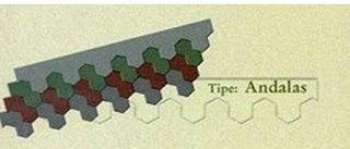 Genteng Metal Multi Sirap Tipe Andalas