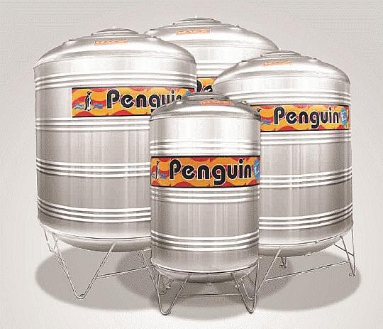 Tangki Air Penguin Stainless Steel Gambar