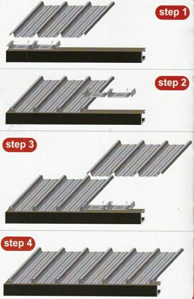 atap-klip-u-672-cara-pemasangan